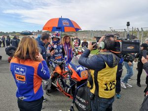 Letztes Moto2 Rennen für Philipp Öttl in Valencia