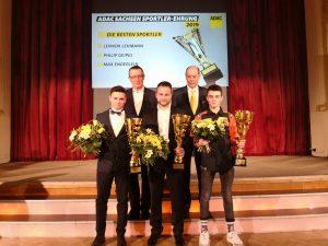 AMC Sportler durch ADAC-Sachsen geehrt