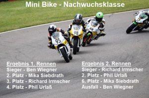 Read more about the article Erfolgreicher Auftakt für AMC Minibiker